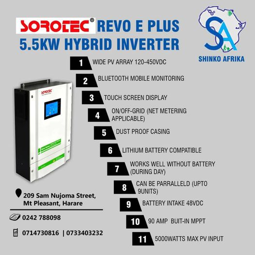 You are currently viewing What makes SOROTEC inverters superior?