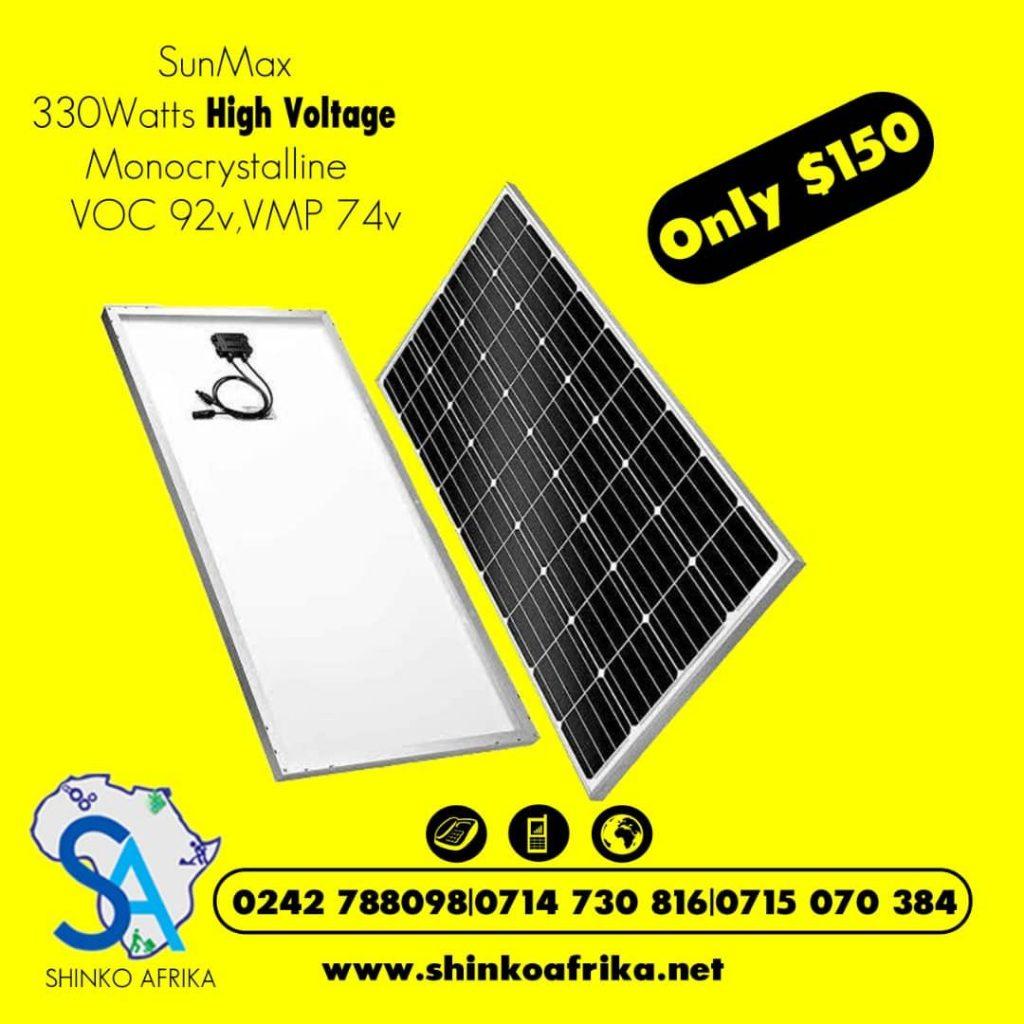 Shinko Solar in Zimbabwe