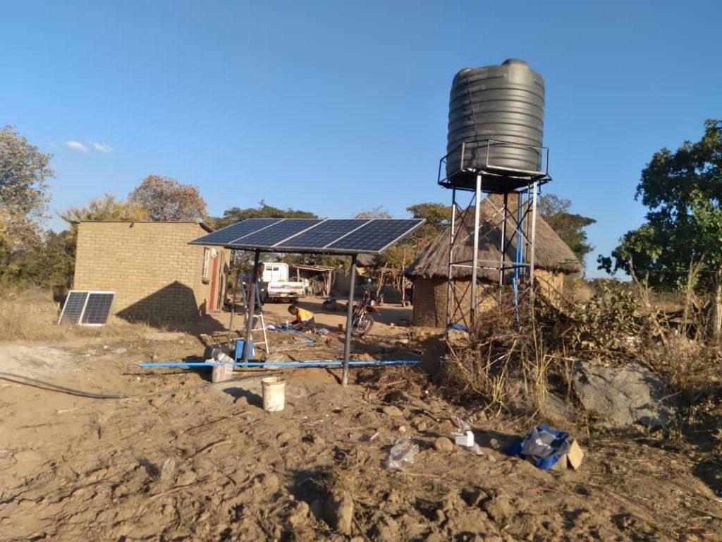 Shinko solar Shamva Solar Project