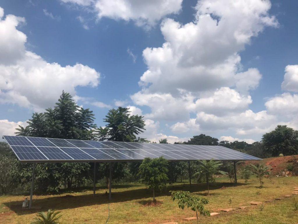 Shinko solar chishawasha Solar Project