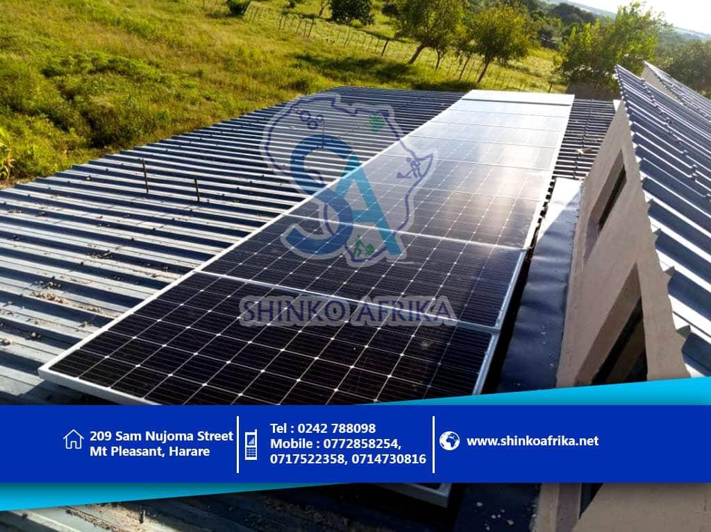 Shinko solar Murewa Solar Project