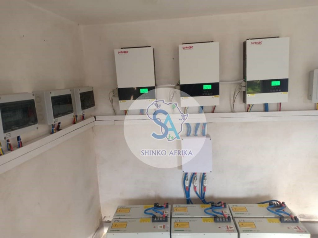 Shinko solar Borrowdale Solar Project