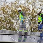 Solar Workers at Shinko Solar and Boreholes at Work