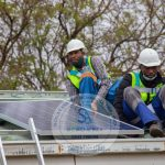 A rest after a successful Solar Installation
