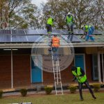 The police Camp Fully Installed a 15 KW Solar Power Station